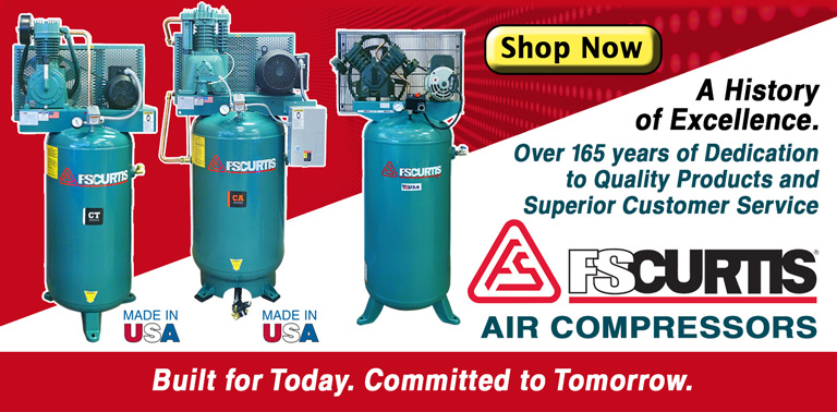 NEW FS-Curtis Compressors - High Quality and Reliable!