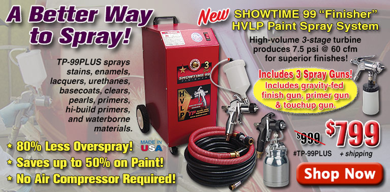 A Better Way to Spray - New Showtime 99 Paint System