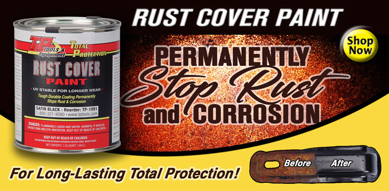 Permanently Stop Rust and Corrosion!