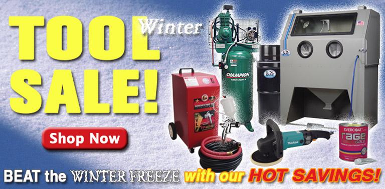 HUGE Winter Tool Sale!