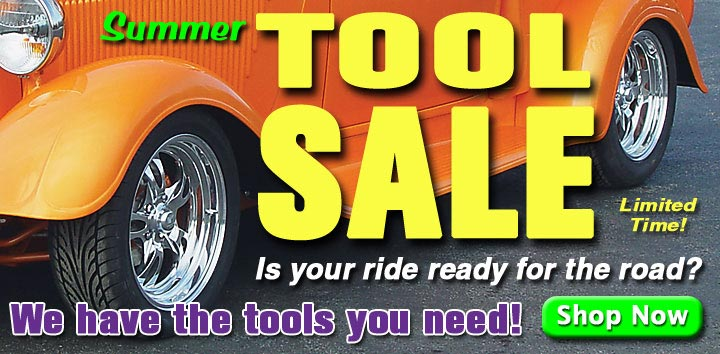 HUGE Summer Tool SALE!