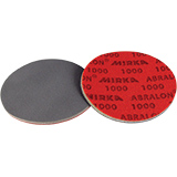 "6"" Dia Foam Wet/Dry Hook & Loop Sanding Discs"