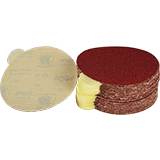 "6"" Diameter Sticky Sandpaper"