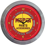 Automotive Neon Wall Clocks