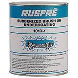 Brush-On Undercoating