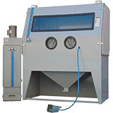 "Commercial (46""-96""W) Foot-Pedal Sandblasting Cabinets"