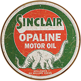 Gasoline/Oil Tin Signs