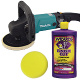 Hand-Held Buffers & Polishers and Supplies