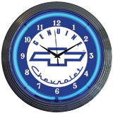 Shop Decor - Neon Wall Clocks & Signs