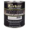 Kirker ULTRA-GLO Single-Stage Urethane Topcoat - Platinum Silver Metallic, .75 Gal