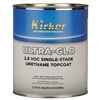 Kirker ULTRA-GLO Single-Stage Urethane Topcoat - Bright Silver Metallic, .75 Gal