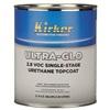 Kirker ULTRA-GLO Single-Stage Urethane Topcoat - Black Gold Pearl, .75 Gal
