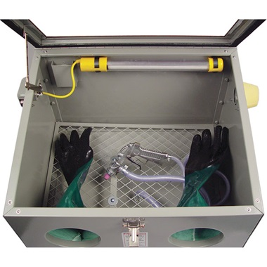 HOBBY PRO HP-50 Bench-Top Blast Cabinet - TP Tools & Equipment