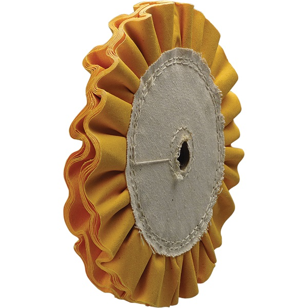 Yellow Ventilated Buffing Wheels