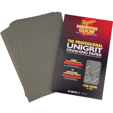 Meguiar's® Unigrit® Finishing Paper
