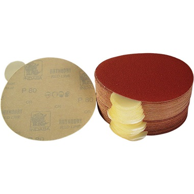 6'' Diameter Adhesive-Back Sandpaper