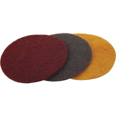 "TP Tools® 6"" Dia Hook & Loop Scuff Pads"