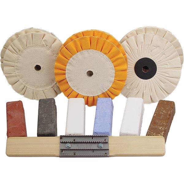 Low Heat Buildup Buffing Kit