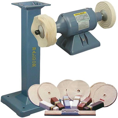 BALDOR® 1/3HP Buffer and Packages