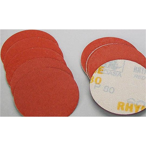 "Indasa 3"" Dia Hook & Loop Sandpaper"