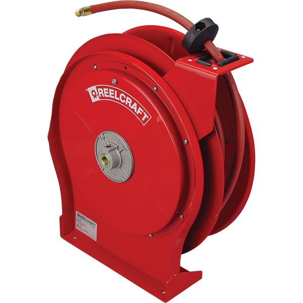 REELCRAFT Premium-Duty Air Hose Reels with Hose
