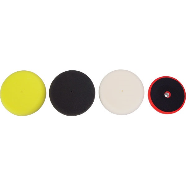 """TP Tools® 6"""" Foam Pads and Backing Plate"""