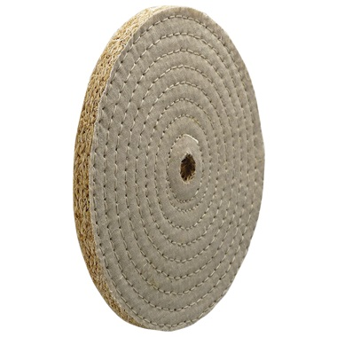 Sisal Sewn Buffing Wheels