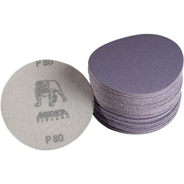 "Mirka 3"" Dia Hook & Loop Sandpaper"