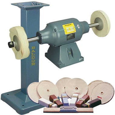 BALDOR® 1-1/2HP Buffer and Packages