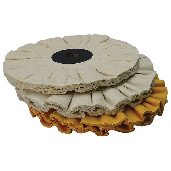 Low Heat Buildup Buff Wheel Sets