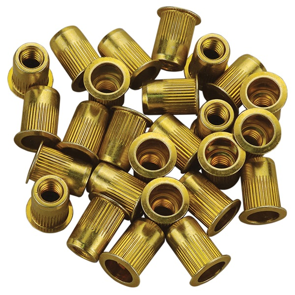 Replacement Heavy-Duty Zinc-Plated Steel Rivet Nuts