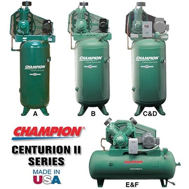 Champion Centurion II Series Compressors