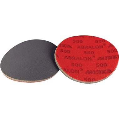"Mirka Abralon 6"" Dia Hook & Loop Foam-Center Sanding Discs"