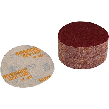 "Indasa 6"" Dia Hook & Loop Sandpaper"