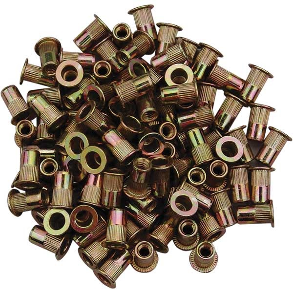 Replacement Zinc-Plated Steel Rivet Nuts
