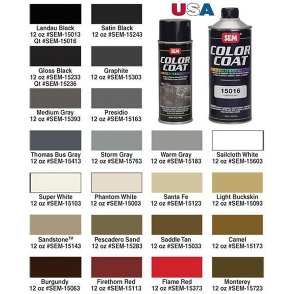 SEM Color Coat™ Aerosol Interior Paint / Coating, 16oz ... |Sem Interior Paint