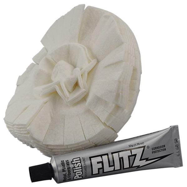 """5"""" Flitz® Polishing Ball and Metal Polish"""