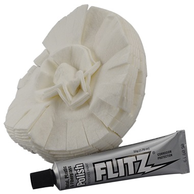 "5"" Flitz® Polishing Ball and Metal Polish"