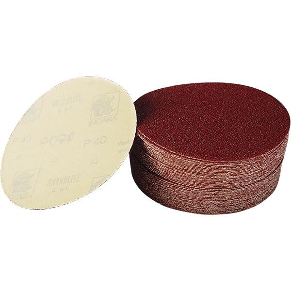 "Indasa H.D. 6"" Adhesive-Back E-Weight Sandpaper"