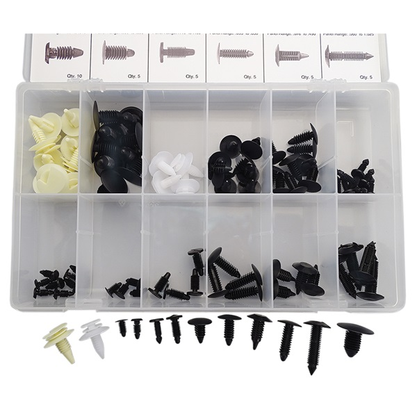 90-Pc GM Retainer Kit Assortment
