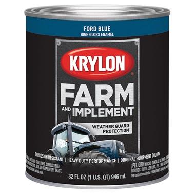 Krylon® Farm & Implement Paint - Ford Blue, Qt