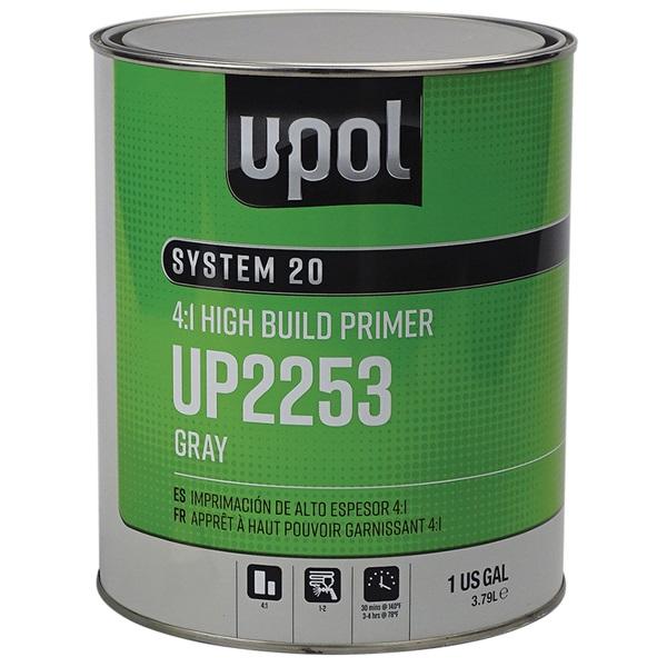 """U-Pol® """"3-IN-1"""" Urethane Primer (2K) DTM - Gray, Gal"""