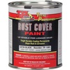 TP Tools® RUST COVER PAINT - Satin Black, Qt