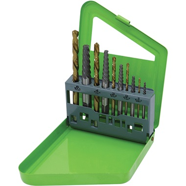 GRIP 10-Pc Screw Extractor Set