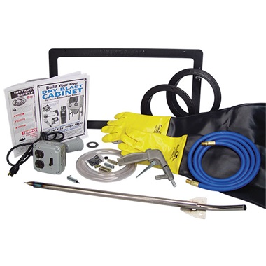 Master Build-Your-Own Cabinet Kits for Abrasive Blasting Cabinets ...