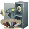 BALDOR® 1-1/2HP Buffer, Enclosed Buffer Cabinet Stand & Buffing Kit