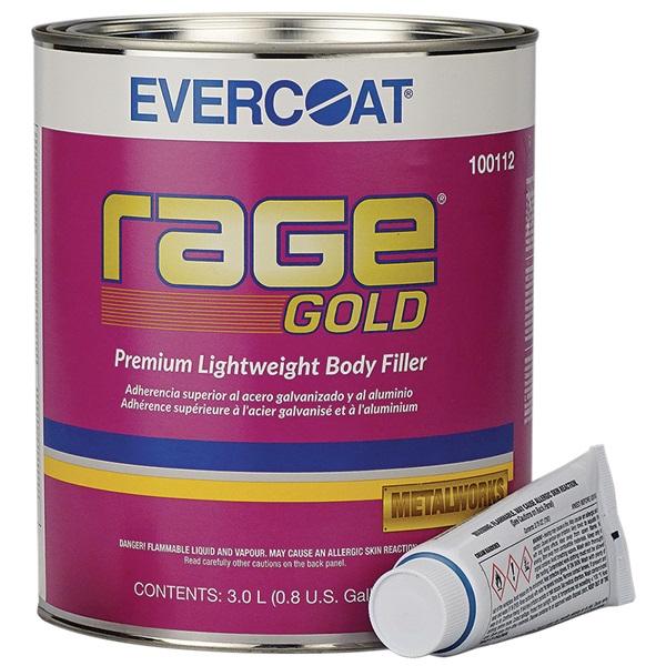 Evercoat® Rage® Gold Premium Body Filler
