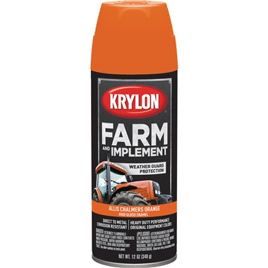 Krylon® Farm & Implement Paint - Allis Chalmers Orange, 12 oz