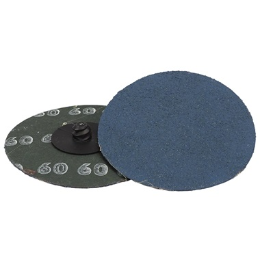 "3"" Quick-Change Sanding Disc - 60 Grit, Ea"