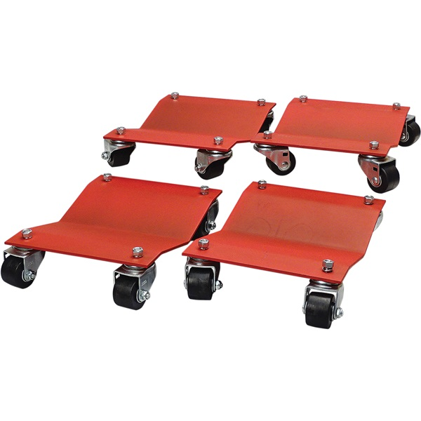 "Heavy-Duty Auto Dolly Set - 16"" x 16"""